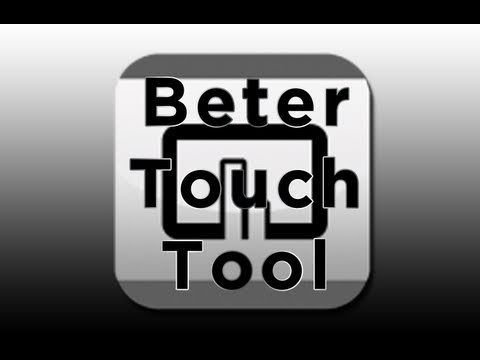 BetterTouchTool tutorial