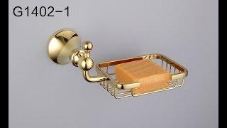 Обзор аксессуаров для ванны, производитель GAPPO, серия G14