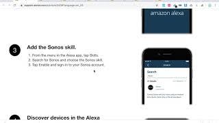 SONOS vs ALEXA how to setup?