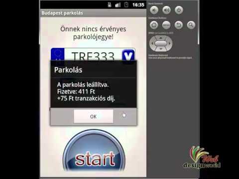 Video of Budapest mobilparkolás