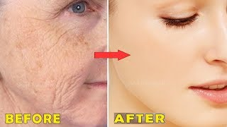 She Is 51 Years Old But Looks Like Just 20 Years   Amazing Skin Whitening & Anti-Aging Secrets Mask
