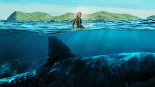 Это невероятно !!! Акула - убийца . ( Отмель ) .