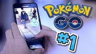 Let's Play Pokemon GO!! Part 1