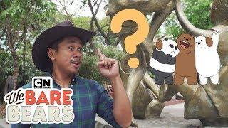 We Bare Bears | Bear Hugs Tour: Manila 🇵🇭feat. Bogart The Explorer | Cartoon Network