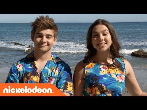 BTS w/ Kira Kosarin & Jack Griffo on 'Thunder in Paradise' | The Thundermans | Nick