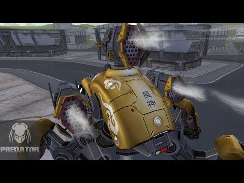 ORKAN FUJIN TAKING OVER   Close-range COMBAT   War Robots