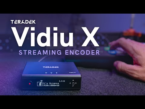 Vidiu X Live Streaming Encoder