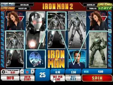 Игровой автомат Iron man 2 от Playtech