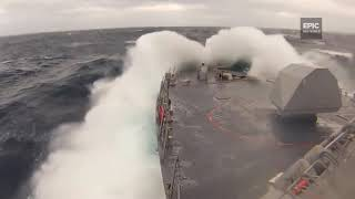 Epic Storm in The Ocean View From The Ships Compilation/Подборка Штормов Вид с Корабля