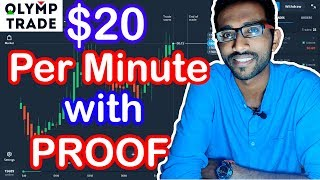 How to Earn $20 Per Minute by Trading at Olymp Trade | Option Trading | Forex Trading