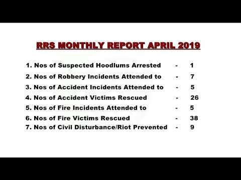 RRS Monthly Report