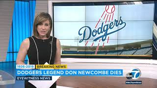 Don Newcombe, Legendary Dodger And Cy Young Award Winner, Dies At 92