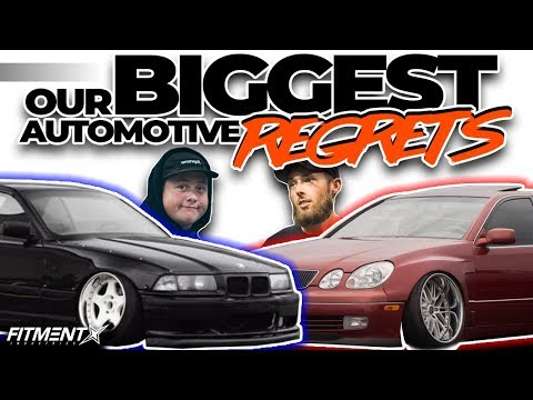 Our Biggest Automotive Regrets