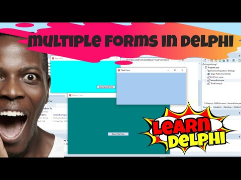 Delphi Programming Tutorial – Unit 5.2: Working with Multiple Forms In a Delphi Project