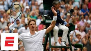 The last (50th!) game of Anderson vs. Isner