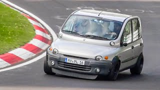 Cars NOT Meant for Racetracks Driven HARD on the Nürburgring Nordschleife!