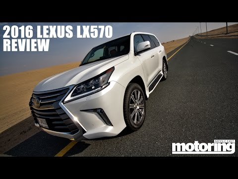 2016 Lexus LX570 review