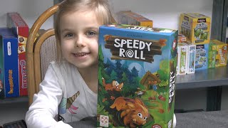 Speedy Roll (Piatnik) - ab 4 Jahre - Kinderspiel des Jahres 2020