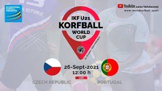 IKF U21 KWC 2021 CZE – POR