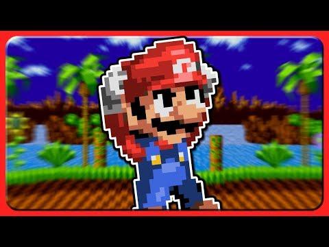 Mario in SONIC 1?! | Somari the Adventurer (Genesis) | Sonic ROM Hacks