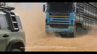 YouTube Video A2DcRf7r9hI for Product Land Rover Defender (L663) by Company Land Rover in Industry Cars