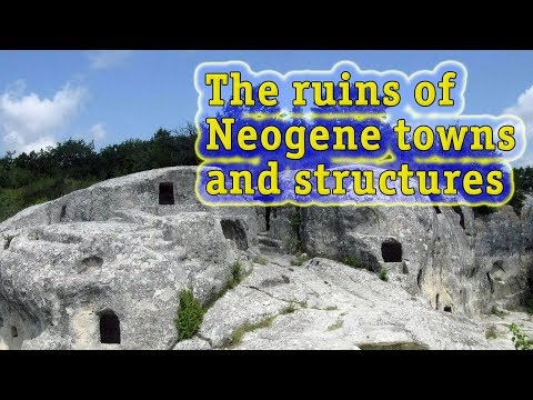 Towns of the Neogene Period: Ruins of Neocene Towns and Buildings in the Mediterranean Region