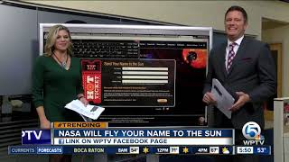 NASA will send your name to the sun