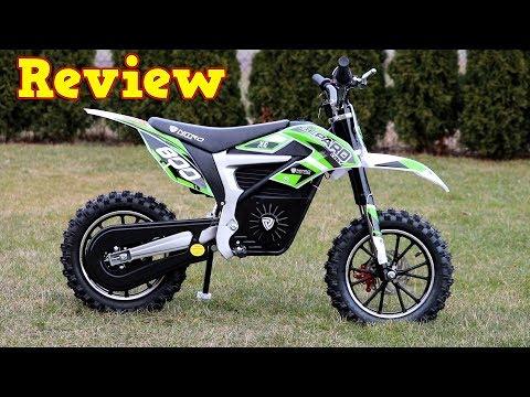 Electric Dirt Bike - Full Review - Eco Gepard 500W 24V Mini Pocket Cross Nitro Motors