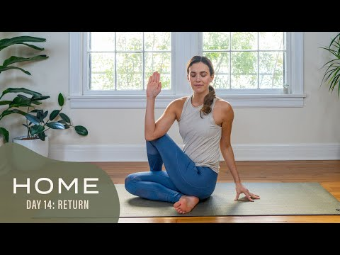 Home – Day 14 – Return | 30 Days of Yoga With Adriene