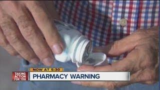 Largo man warns of prescription errors