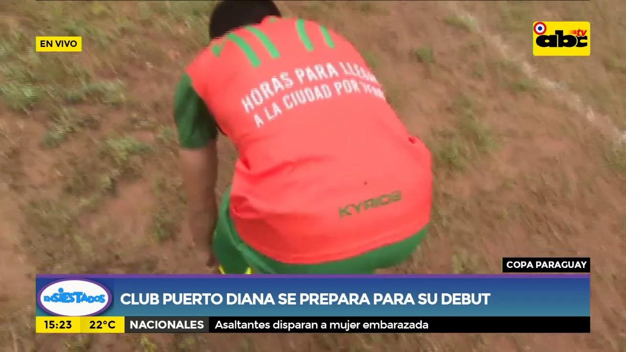 Club Puerto Diana se prepara para su debut
