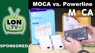 MOCA vs. Powerline : G.hn (Comtrend) and Homeplug AV2 (TpLink AV1000) compared!