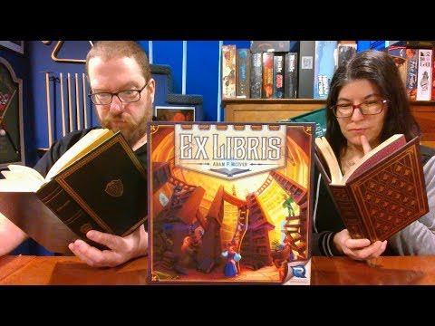The Board Game Kaptain's review and tutorial for Ex Libris