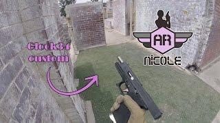 Glock 34 WE | nut shot, Deltapaintball