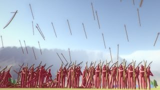 RAIN OF ARROWS - Totally Accurate Battle Simulator TABS