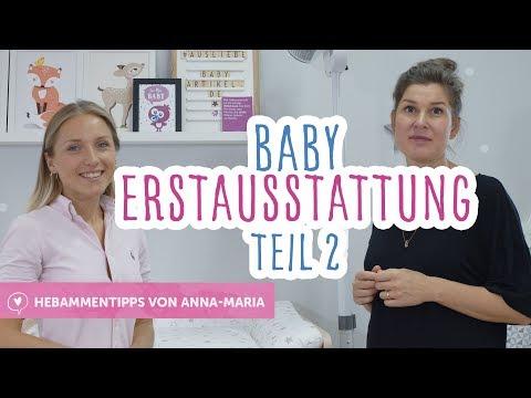 Baby Erstausstattung Teil 2 ♥️ Hebammentipps von Anna-Maria | babyartikel.de