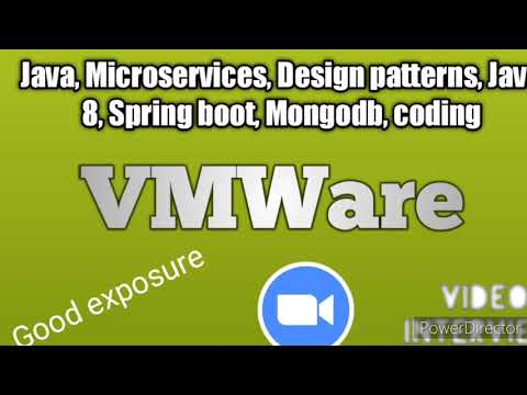 VMware Java microservices interview round 2 || Project related, coding questions and answers