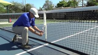 Ιμάντας Φιλέ Τέννις - Center Strap video