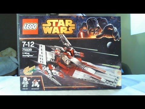 Vidéo LEGO Star Wars 75039 : V-Wing Starfighter