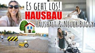 HAUSBAU GEHT LOS! Putzroutine | neue Deko & Twistshake Buggy |MAYRA JOANN