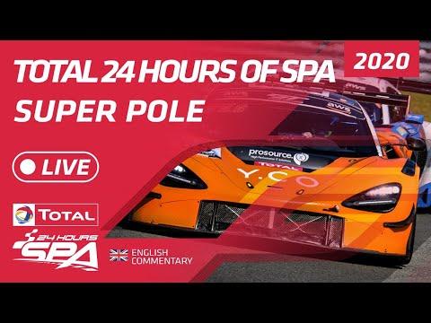 ト-タル・スパ24時間 スーパーポールのライブ配信動画