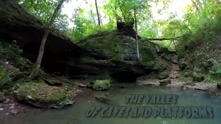 The Valley of Caves and Platforms   Forck-In Quad FPV Cinematic Insta360 GO