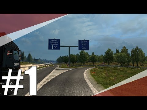 Euro Truck Simulator 2 ProMods   Lyon-Hannover (979 km)   Timelapse   CZ/SK