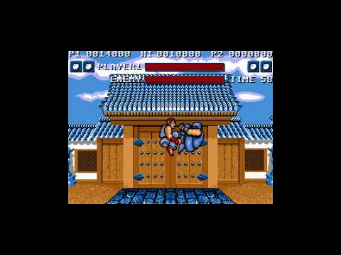 SAM Coupe - Street Fighter 1 (preview).