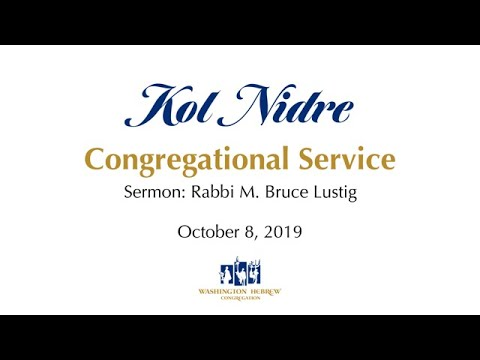 Kol Nidre 2019 Sermon