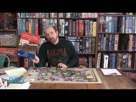 How to play Liberty or Death (Revolutionary War) board game