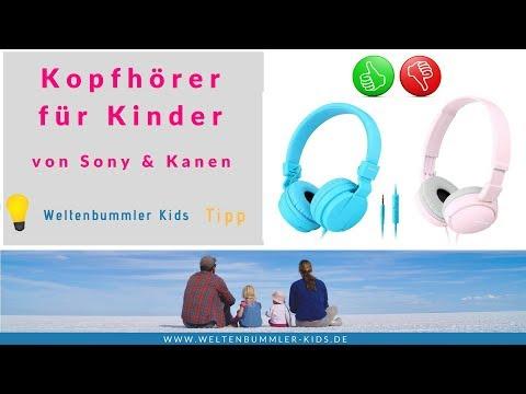 Kopfhörer für Kinder - endlich mal Ruhe // Produkttest