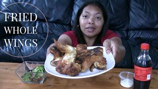 Fried Chicken Mukbang | Whole Wings