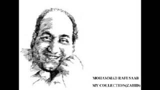 Simti Hui Yeh Ghadriyaan  MOHAMMAD RAFI SAAB