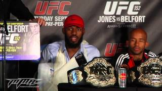 UFC 152 Post Fight Press Conference: Dana White Rips Some Fans, Writer